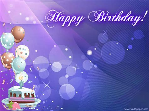 Birthday Wallpapers Background Images Wallpaper