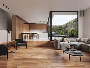 Soft, Minimalist, House, Interior, Cgi, On, Behance