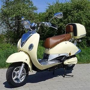 Scooter Roller Elektro : elektro motorroller 1500 watt retro e scooter znen ~ Jslefanu.com Haus und Dekorationen