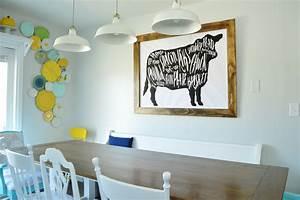 Got Beef  A Giant Butcher Chart Art Print