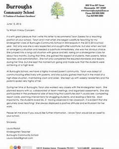 Employment Reference Letter Examples Editable Teacher Letter Of Recommendation From A
