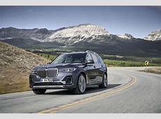 2019 BMW X7 3row SUV debuts The bling comes standard