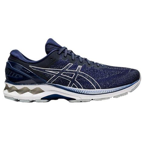 Asics Mens Gel-Kayano 27 Navy Running Shoes   BMC Sports
