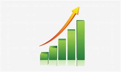 Sales Increase Graph Growth Arrow Icon Bar