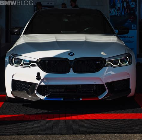 M5 Performance Parts by 2017 Sema Live Photos Bmw F90 M5 With M Performance Parts
