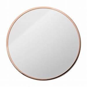 Miroir Rond à Suspendre : miroir rond mural design bloomingville par ~ Teatrodelosmanantiales.com Idées de Décoration