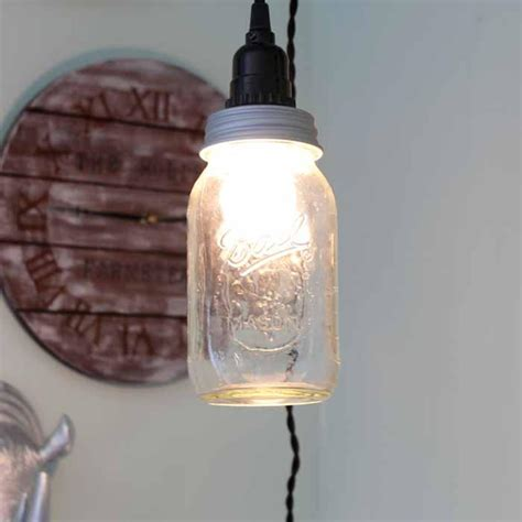 how to make a mason jar light diyideacenter com