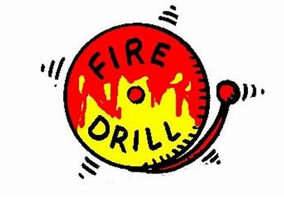 Drill Fire Evacuation Clipart Safety Office Clip
