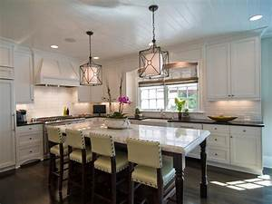 Kitchen island pendant lighting design : Modern kitchen window treatments hgtv pictures ideas
