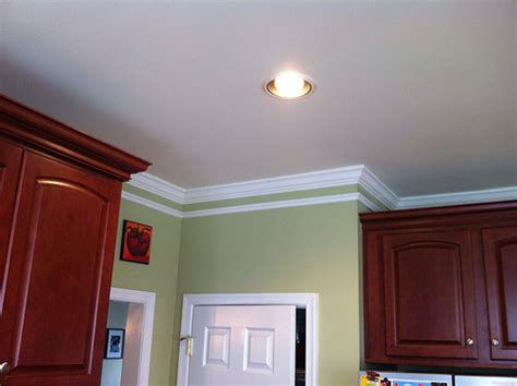 crown moulding above kitchen cabinets crown molding kitchen cabinets flickr photo 8513