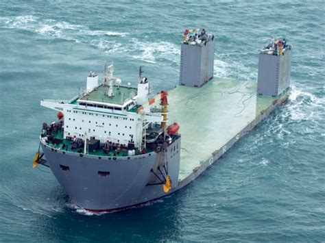 bureau cargo china cmhi delivers semi submersible heavy lift vessel