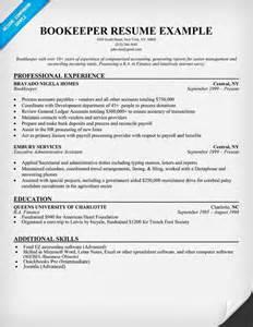 assistant bookkeeper sle resume bookkeeper resume sle resume sles across all industries resume exles
