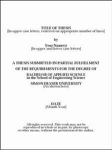 sample dissertation titles