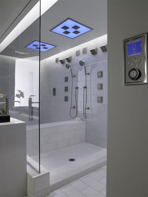 High End Shower Heads - universal design showers safety and luxury hgtv