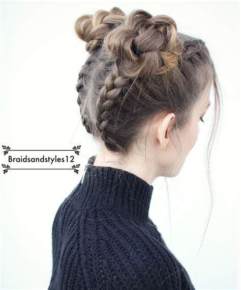 braidsandstyles12 makeup and hair pigtail braids hair