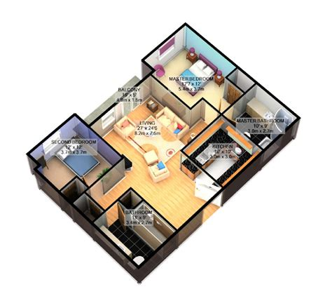 simple house plan with 3 bedrooms 3d pixshark com images galleries with a bite
