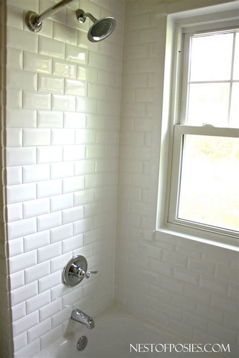 subway tile ideas for bathroom our home improvement project in our home