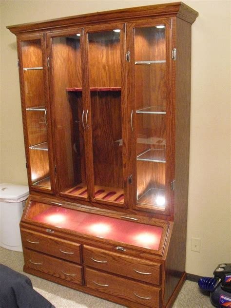 hand  gun cabinet  furniture   custommadecom
