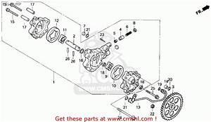 Honda Xr80r 1993 Usa Parts Lists