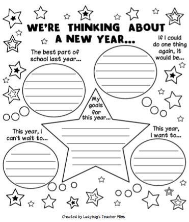teacher new year worksheet festival collections