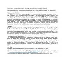 cover letter title postdoc sample postdoc application letter