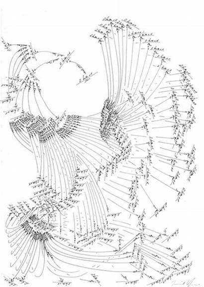 Jorinde Voigt Drawing Contemporary Emote Drawings Score