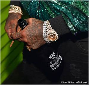 Rick Ross jewelry detail | Sandra Rose