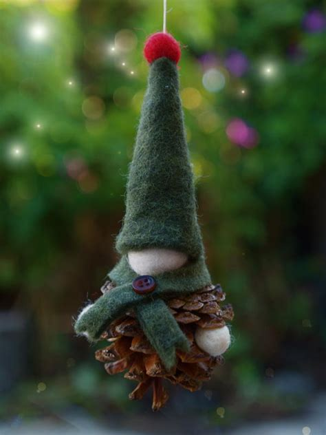 handmade christmas gnome ornament allfreekidscraftscom