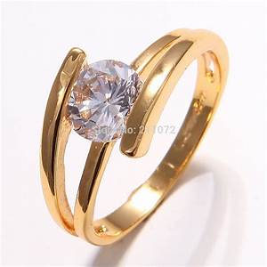 Wedding gold rings for women wedding promise diamond for Wedding gold rings for women