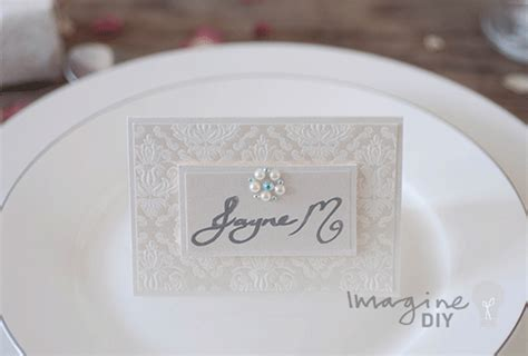 wedding place card gallery imagine diy