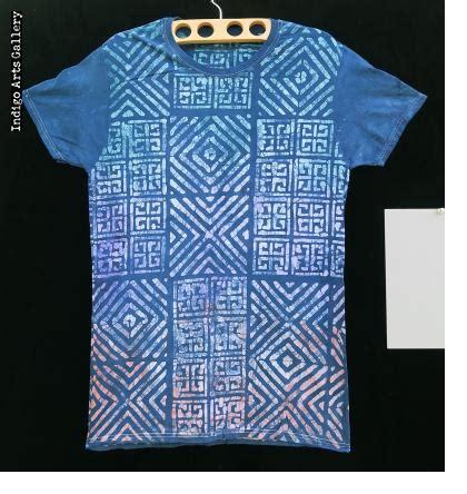 t shirt batik batik and indigo tie dye t shirts by gasali adeyemo of nigeria indigo arts