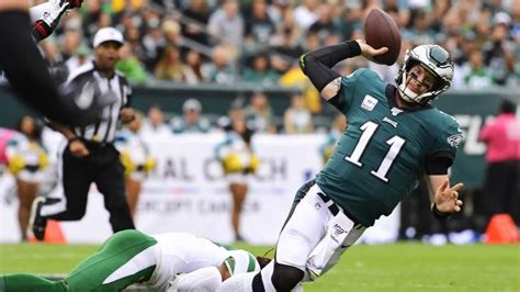 eagles offense   sync  blowout win  jets