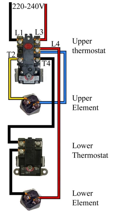 wall heater 240v wiring diagram get free image about