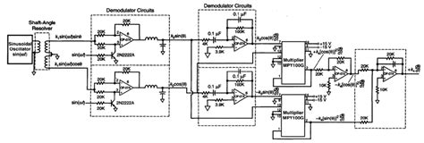 Tachometer Derived From Brushless Shaft Angle Resolver