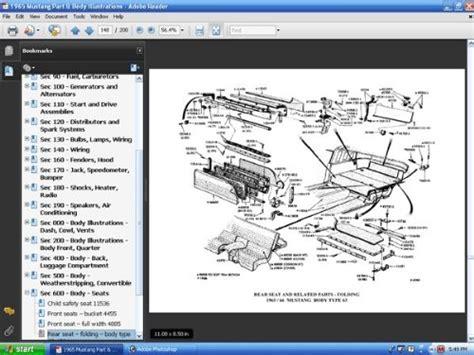 wiring diagram manual form 7795p 65 1965 colorized mustang wiring diagrams david e leblanc