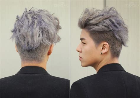 granny hair  homens cabelo cinza vira tendencia