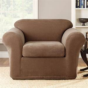 sure fit slipcovers stretch metro chair slipcover 2 pc With stretch sure fit furniture covers