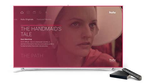 hulu s live tv service arrives on tv techcrunch