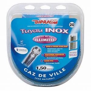Tuyau De Gaz Naturel : tuyau flexible en inox pour gaz naturel ~ Edinachiropracticcenter.com Idées de Décoration