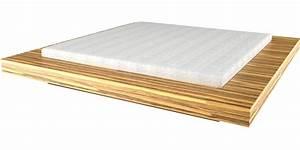Design Bett Holz : bett visum wei es puristisches design bett von rechteck ~ Orissabook.com Haus und Dekorationen
