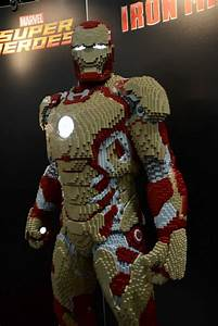Iron Man LEGO... How many Legos do you think it took to ...