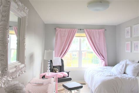 pink curtains for nursery curtain menzilperde net