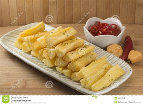 manioc cuisine mandioca stock photo image 54613346