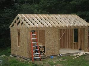 Storage Shed Building Plans Blueprints - House Plans #12795