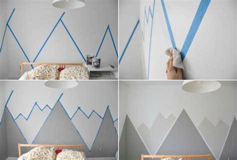 Wandgestaltung Kinderzimmer Kleinkind by Wandgem 228 Lde Mit Malerkrepp Gestalten Bastelged 246 Ns In
