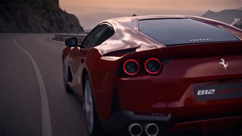 Video Trailer Ferrari 812 Superfast Caricos
