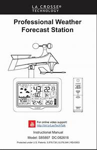 La Crosse Technology Tx233rw Professional Weather Station