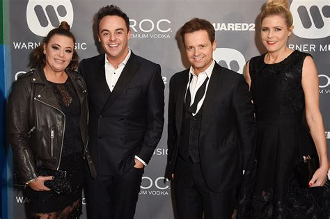 Declan Donnelly and Ali Astall attend Brits after wedding ...
