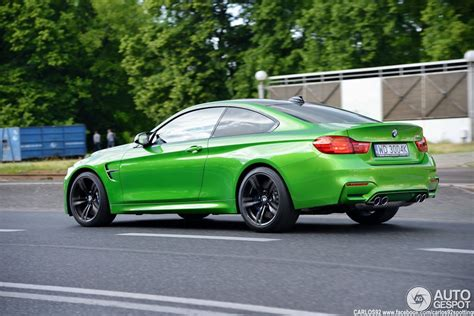 java green bmw java green bmw m4 spotted in warsaw