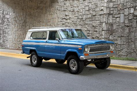 jeep cherokee chief blue 1978 jeep cherokee motorcar studio